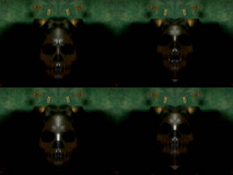 skullface by AmethystLion
