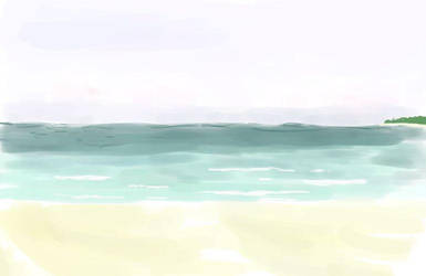 beach by AmethystLion