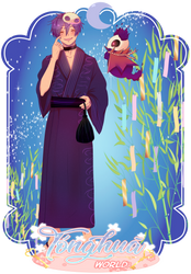 [TW] Tanabata meme | Luther by Panque-chan