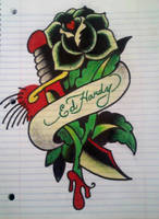 Ed Hardy drawing by los19