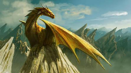 Dragon by Edli