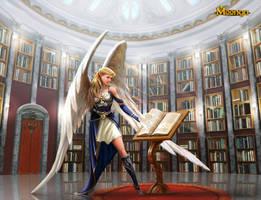 Scholar Angel - Moonga by Edli