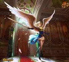 Warrior Angel - Moonga by Edli
