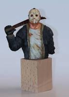 Jason-bust by 123samo