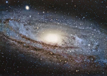 Andromeda Galaxy by Captain-Marmote