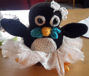 Persephone the Penguin by BrigetteMora