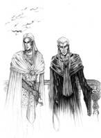 Zankor'el and his 'Geir' by GhostOfMidwinter