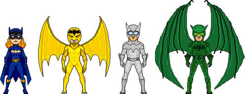 The Bats by Ghornet