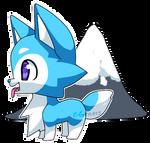Chibi Icen the Husky! by Z-Graves