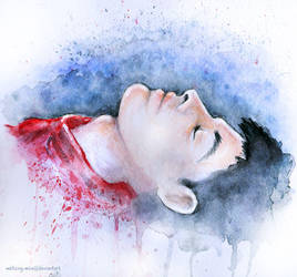 Dreaming in Watercolor by disco-mouse