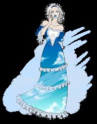 Commission - Wind Goddess by pyrasterran
