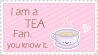 tea fan and you know it. by FlipFlopFly