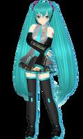 Michi's Animasa Miku (Default Costume) by XxXSickHeartKunXxX