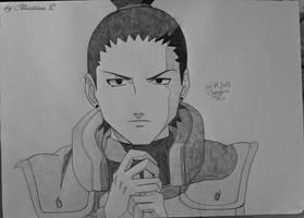 Shikamaru by M0nstac00kie