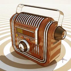 280210 - VOLNA radio reciever by 600v