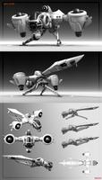 NFZ KTYR' A 3D model - Download link by 600v