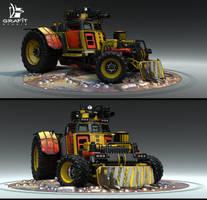 Battle Carzzz - Dozer by 600v
