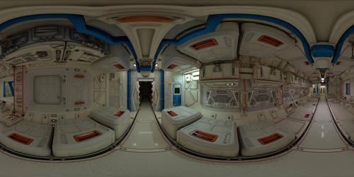 Spaceship Interior 360 Panorama (Facebook link) by 600v