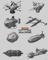 Spaceships - Rogue Universe (MUST Games) by 600v