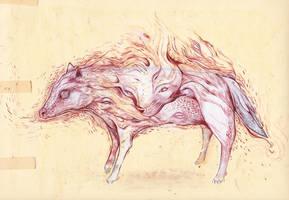 whitewolves by StefanThompson