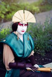 Avatar Kyoshi by FangsAndNeedles