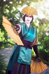 Avatar Kyoshi 2 by FangsAndNeedles