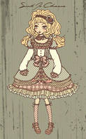 Lolita Dress Design I by dwightyoakamfan