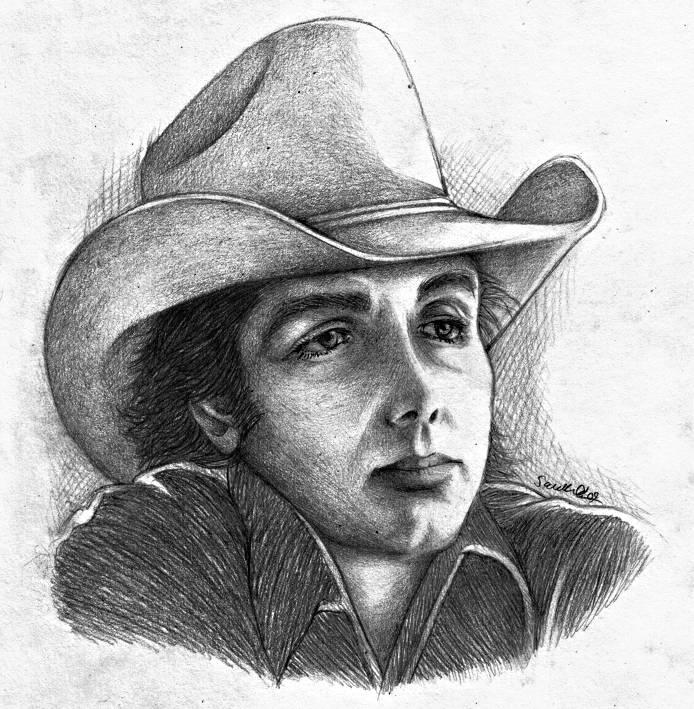 Dwight Yoakam In Pencil by dwightyoakamfan