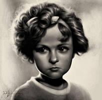 Shirley Temple by dwightyoakamfan