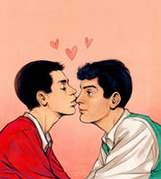 Dean And Jer by dwightyoakamfan