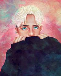 painting - ''colorful winter'' by dwightyoakamfan