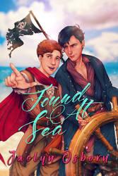 Book Cover Art - Jaclyn Osborn's Found At Sea by dwightyoakamfan