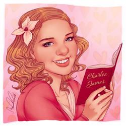 Author Portrait -- Charlee James by dwightyoakamfan