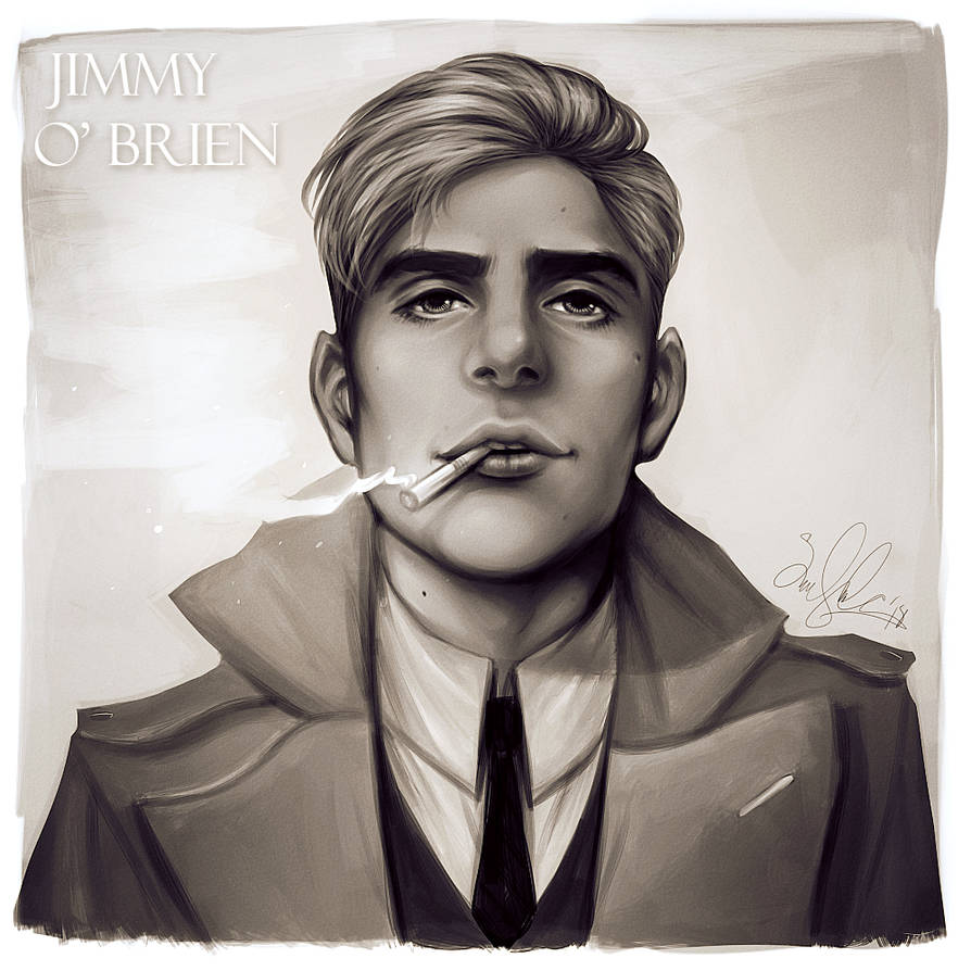 Character Portrait - Jimmy O' Brien by dwightyoakamfan