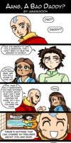Aang a Bad Daddy by AmayaMarieSuta