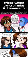 Mass Effect Andromeda: Achievements by AmayaMarieSuta