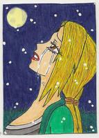 ACEO #37 'Heavy Pain' by Shiako-sama