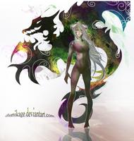 Arathziel-femform by Illumikage