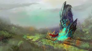 Monster x Knight v2 by Illumikage
