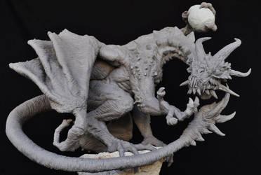 Demon Dragon Trade Sacrifice by AntWatkins