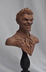 Joker Mini Bust Monster Clay by AntWatkins
