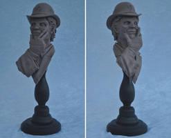 Riddler Bust Final Sculpt by AntWatkins
