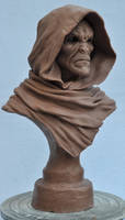 Ancient Cursed Majestic bust 1 Monster Clay by AntWatkins