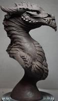 Goliath Dragon Bust Creature Sculpt 1 by AntWatkins
