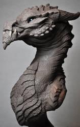 Goliath Dragon Bust Creature Sculpt 2 Beast by AntWatkins