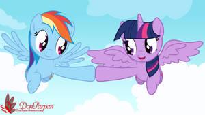 Let's fly together by WaveyWaves