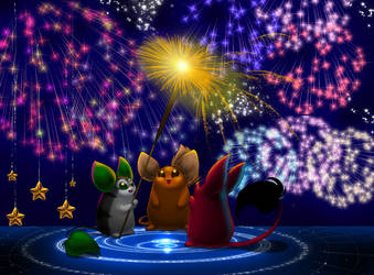 Wishing You A Happy New Year by Sakuyamon