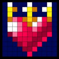 Shape of Sakuyas Heart by Sakuyamon