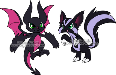 Digimon Rookie Adoptables 4 by Sakuyamon
