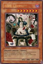 Alice Liddell card by TetsuiArikado